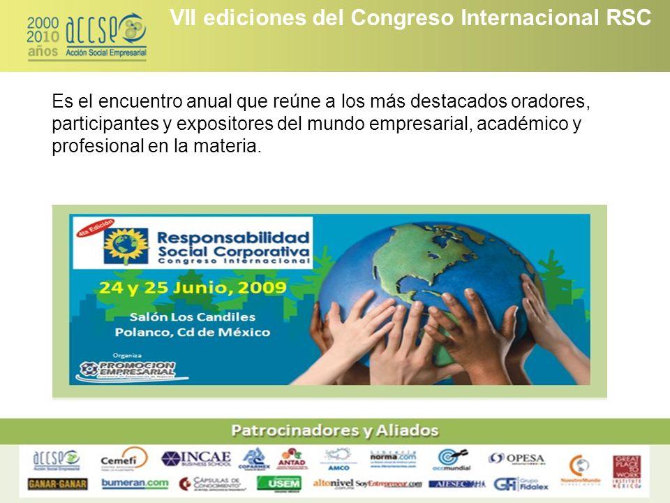 VII ediciones del Congreso Internacional RSC