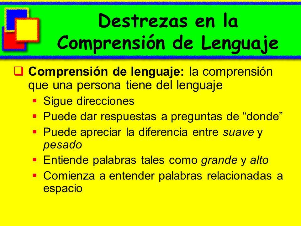 Destrezas en la Comprensión de Lenguaje