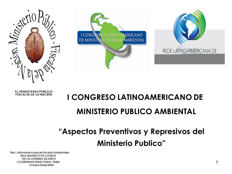 I CONGRESO LATINOAMERICANO DE MINISTERIO PUBLICO AMBIENTAL