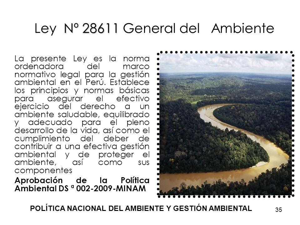 Ley Nº 28611 General del Ambiente