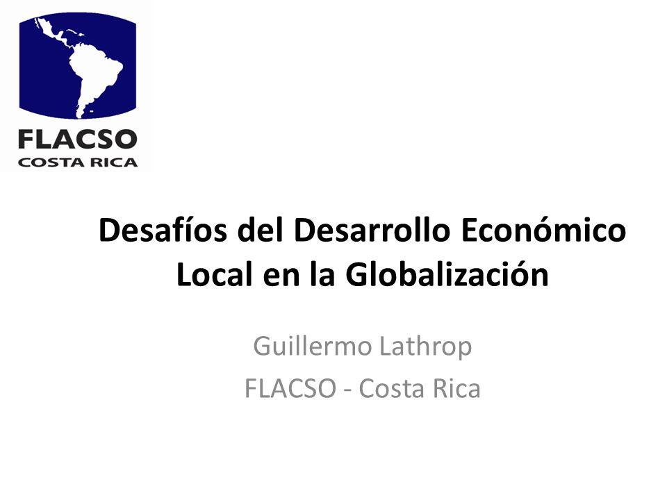 Desafíos del Desarrollo Económico Local en la Globalización