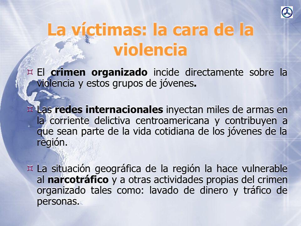 La víctimas: la cara de la violencia