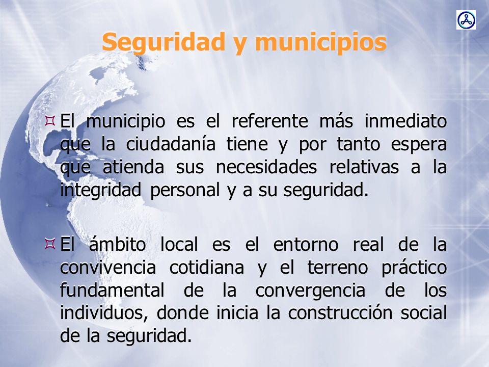 Seguridad y municipios
