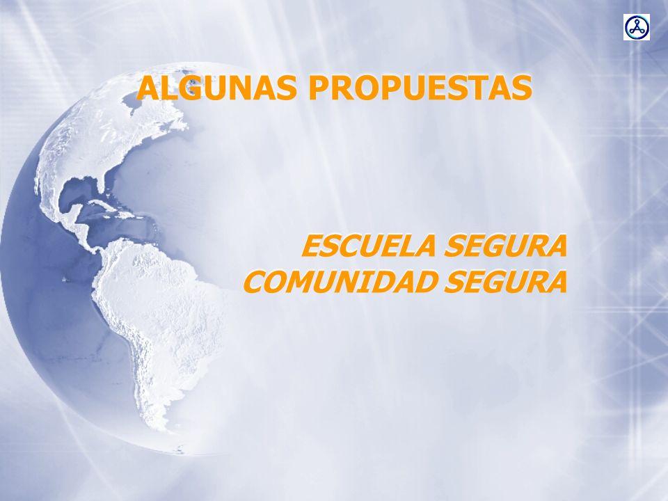 ESCUELA SEGURA COMUNIDAD SEGURA