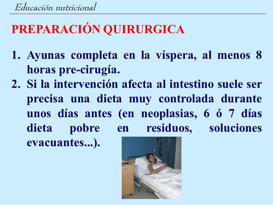 PREPARACIÓN QUIRURGICA