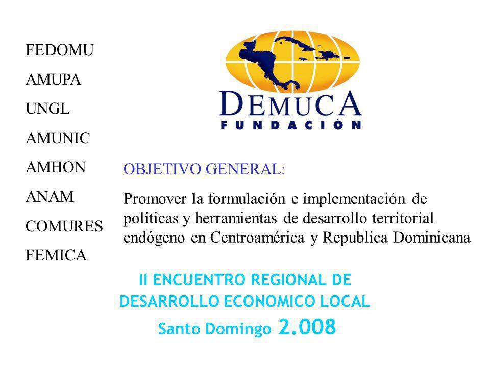 II ENCUENTRO REGIONAL DE DESARROLLO ECONOMICO LOCAL