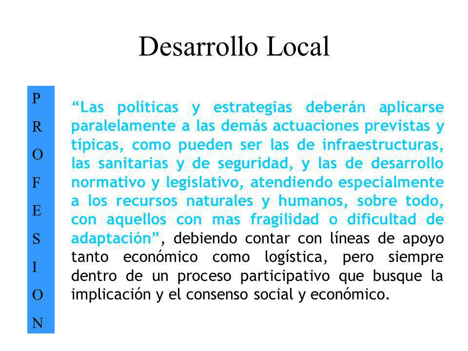 Desarrollo Local P. R. O. F. E. S. I. N.