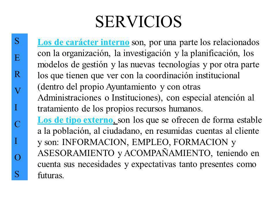 SERVICIOS S. E. R. V. I. C. O.