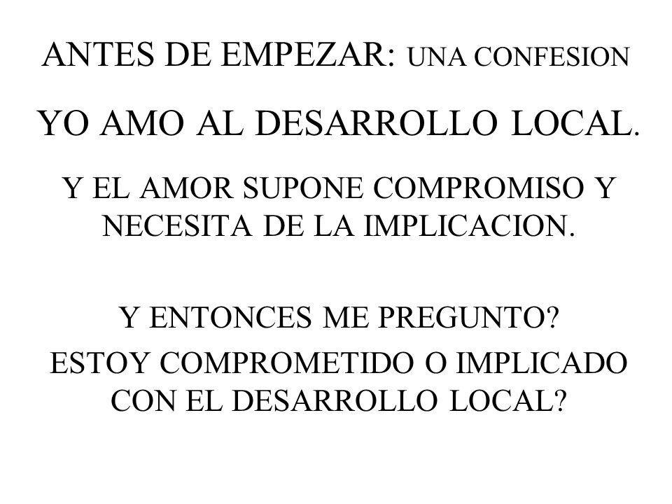 ANTES DE EMPEZAR: UNA CONFESION