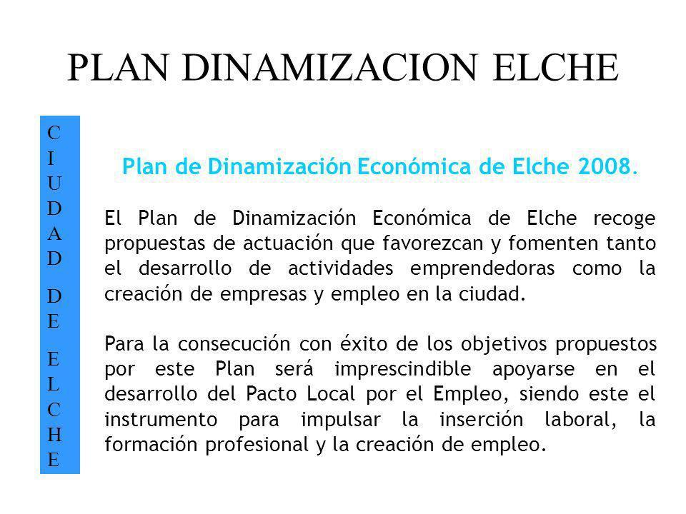 PLAN DINAMIZACION ELCHE
