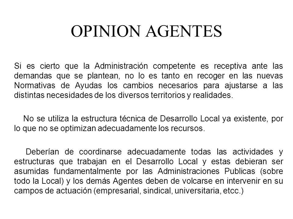 OPINION AGENTES