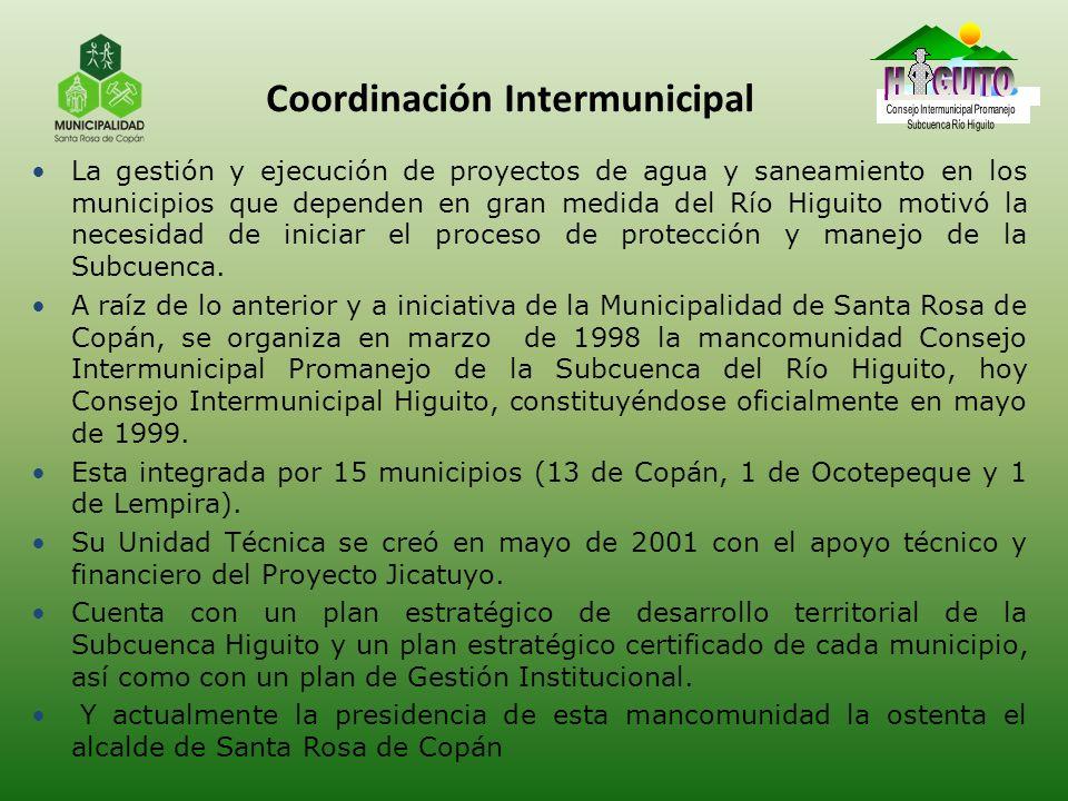 Coordinación Intermunicipal