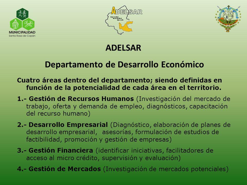 ADELSAR Departamento de Desarrollo Económico