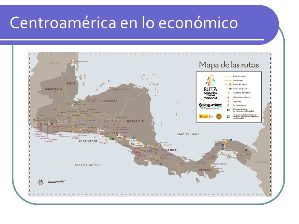 Centroamérica en lo económico