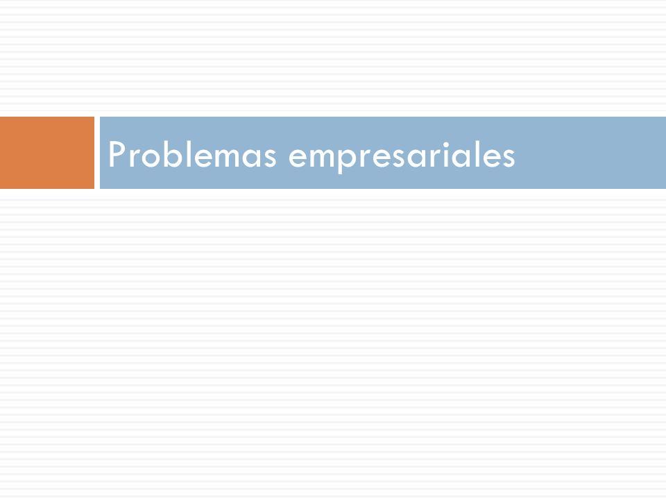 Problemas empresariales