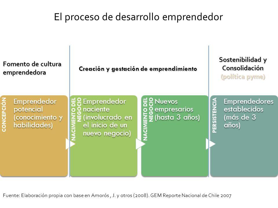 El proceso de desarrollo emprendedor