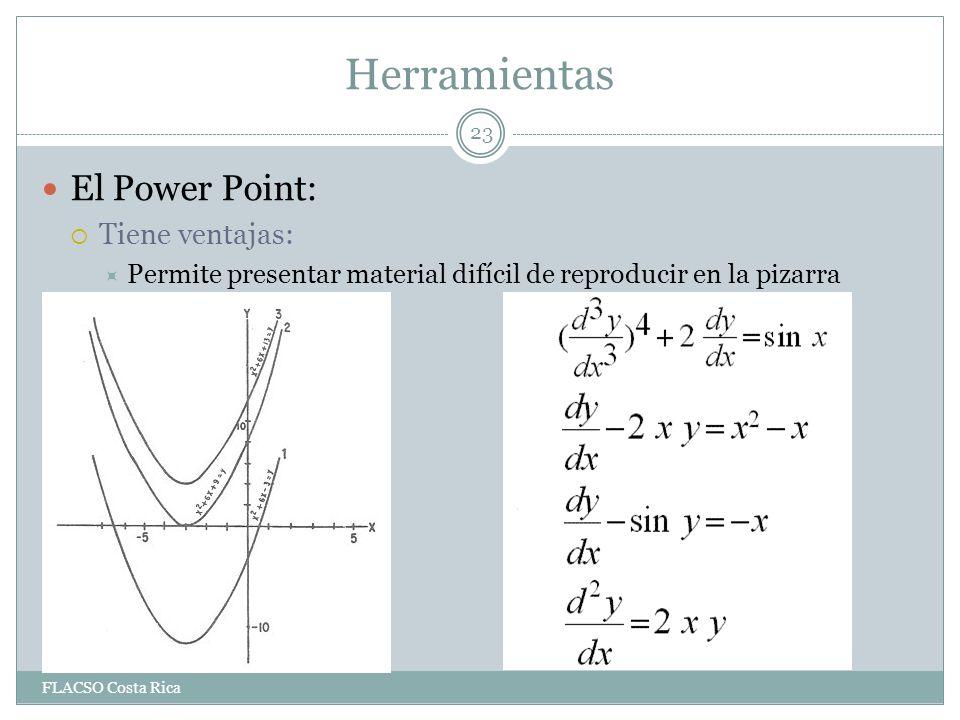 Herramientas El Power Point: Tiene ventajas: