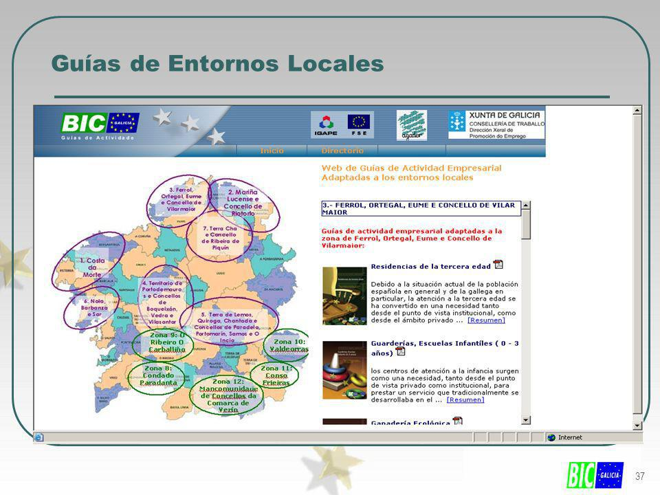 Guías de Entornos Locales
