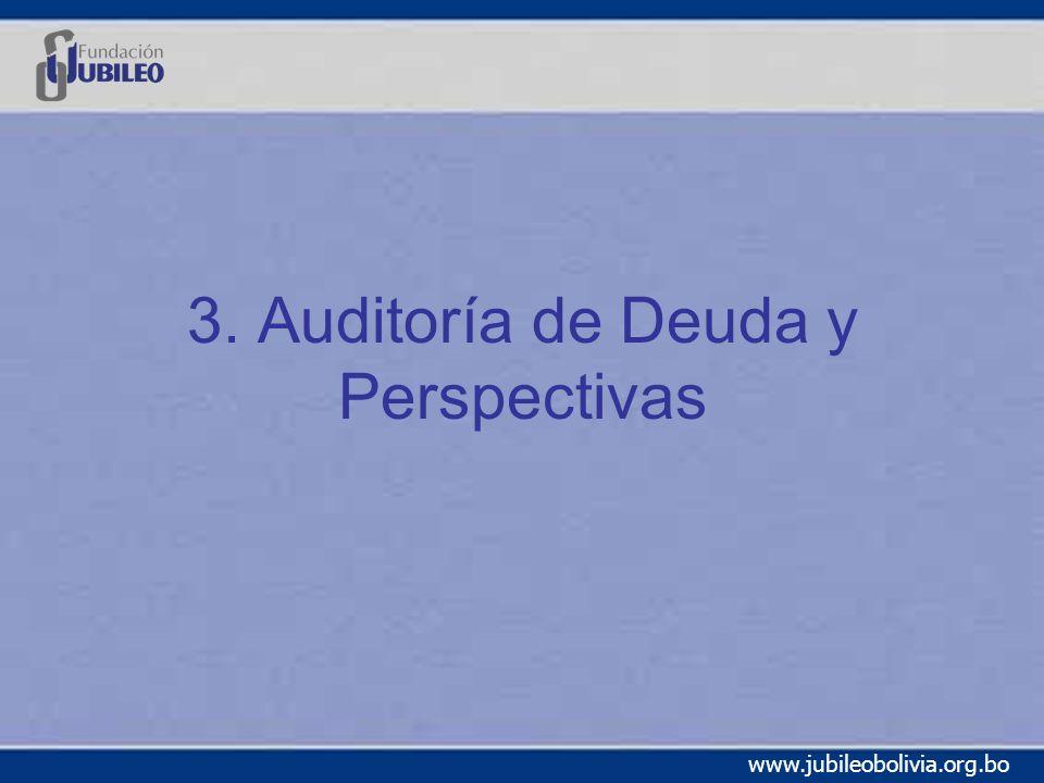 3. Auditoría de Deuda y Perspectivas