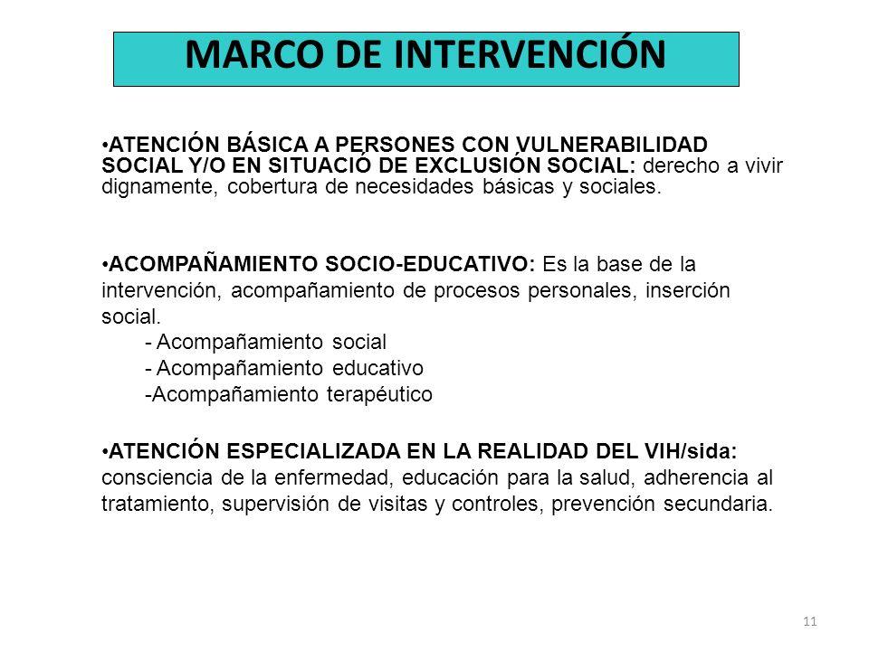 MARCO DE INTERVENCIÓN