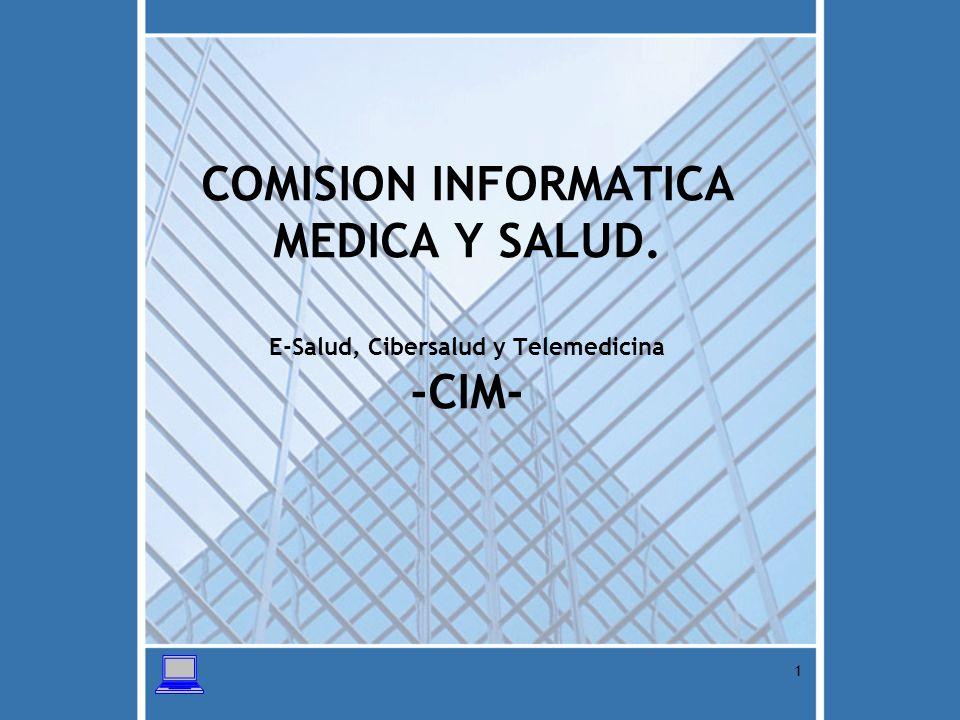 COMISION INFORMATICA MEDICA Y SALUD
