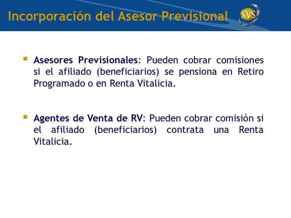 Incorporación del Asesor Previsional