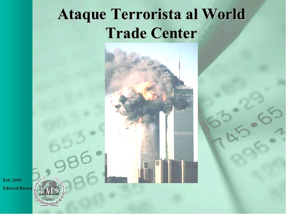 Ataque Terrorista al World Trade Center