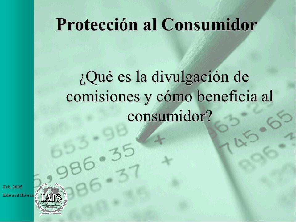 Protección al Consumidor