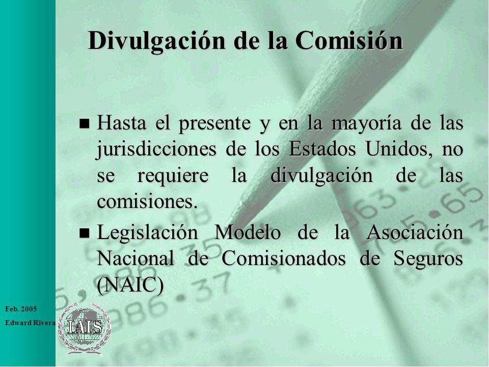 Divulgación de la Comisión