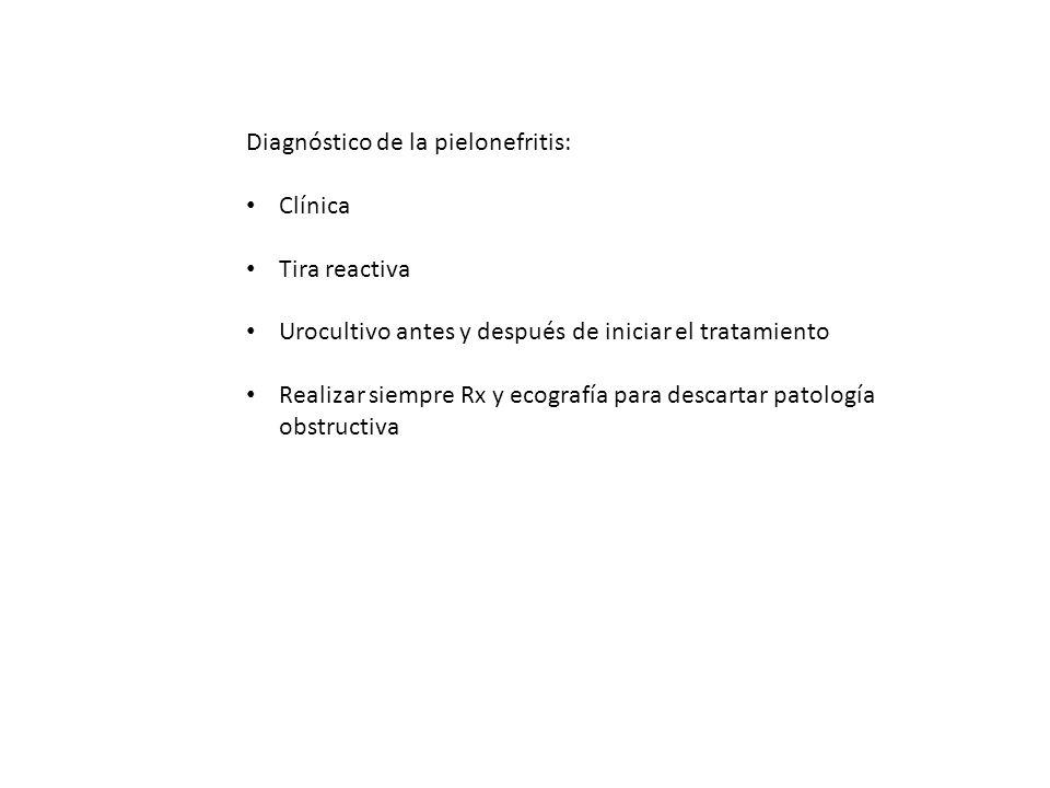 Diagnóstico de la pielonefritis: