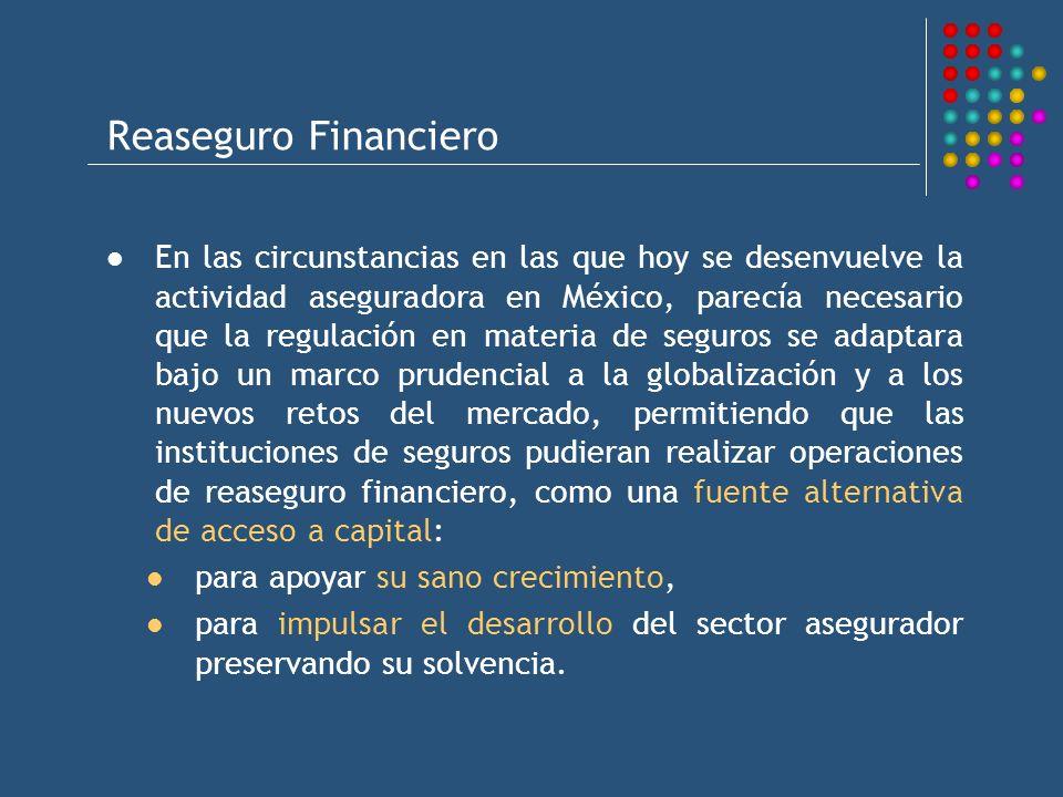 Reaseguro Financiero