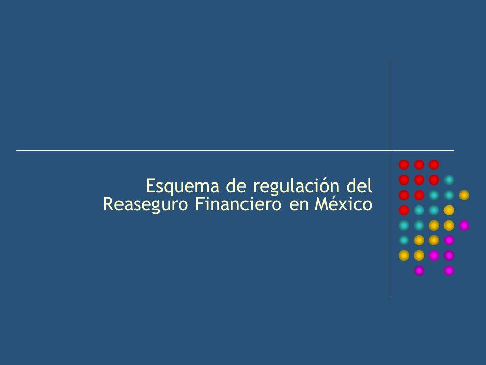 Esquema de regulación del Reaseguro Financiero en México