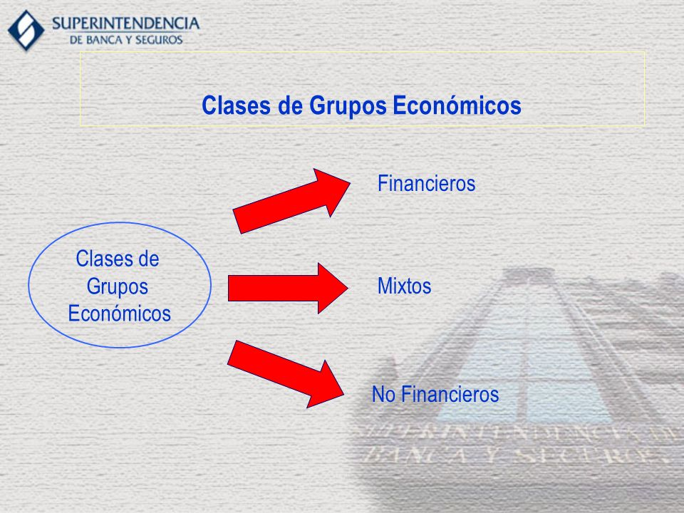 Clases de Grupos Económicos
