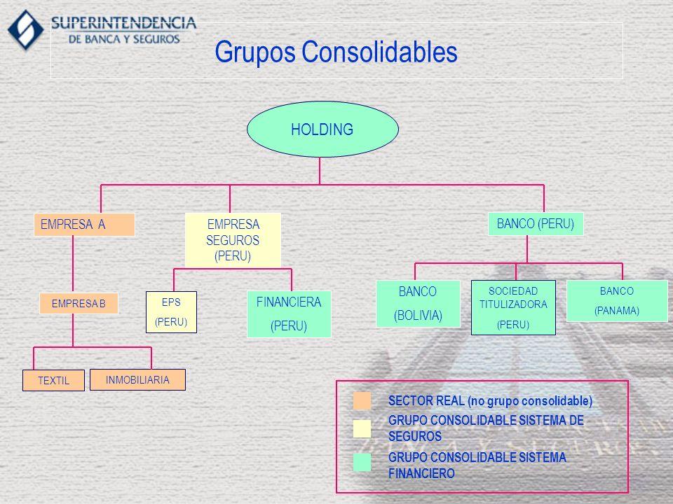 Grupos Consolidables HOLDING EMPRESA A EMPRESA SEGUROS (PERU)