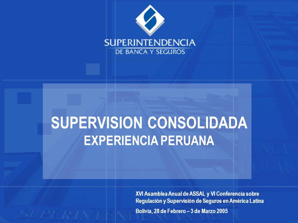 SUPERVISION CONSOLIDADA EXPERIENCIA PERUANA