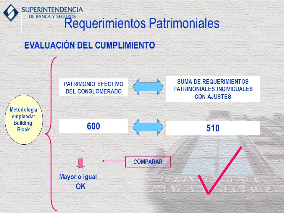 Requerimientos Patrimoniales