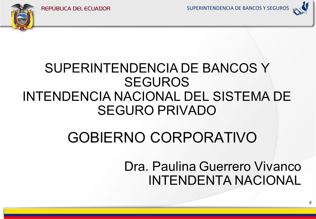 Dra. Paulina Guerrero Vivanco INTENDENTA NACIONAL