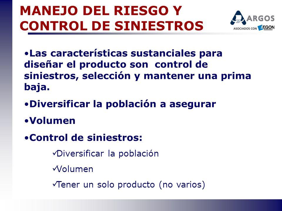 MANEJO DEL RIESGO Y CONTROL DE SINIESTROS