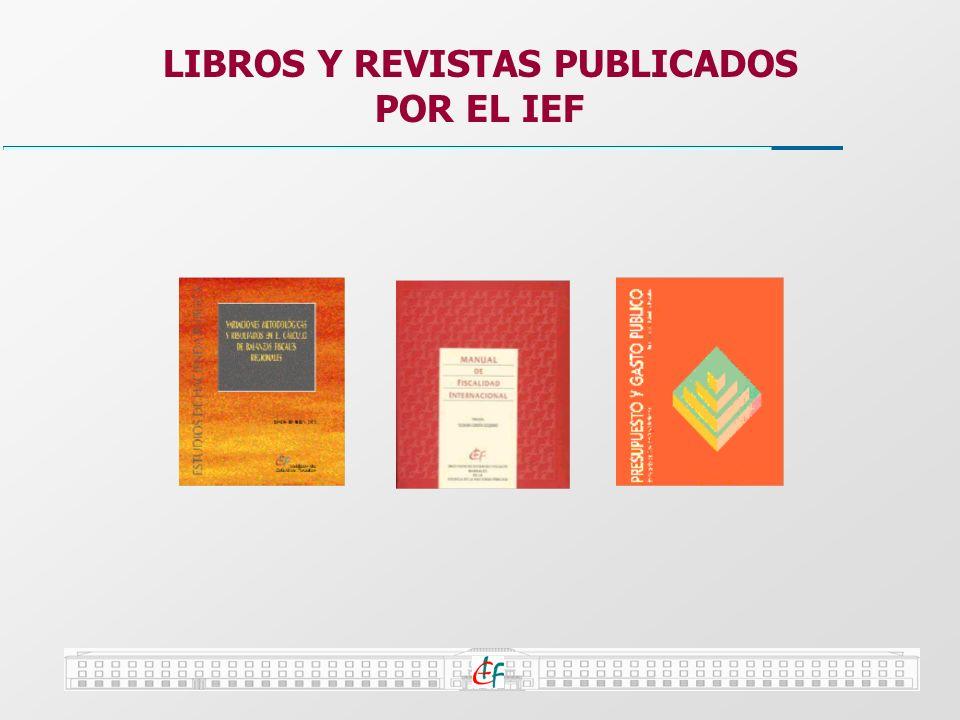 LIBROS Y REVISTAS PUBLICADOS