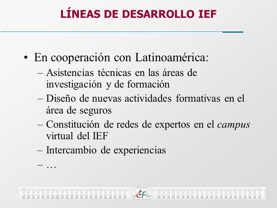 LÍNEAS DE DESARROLLO IEF