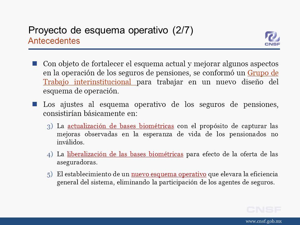 Proyecto de esquema operativo (2/7) Antecedentes
