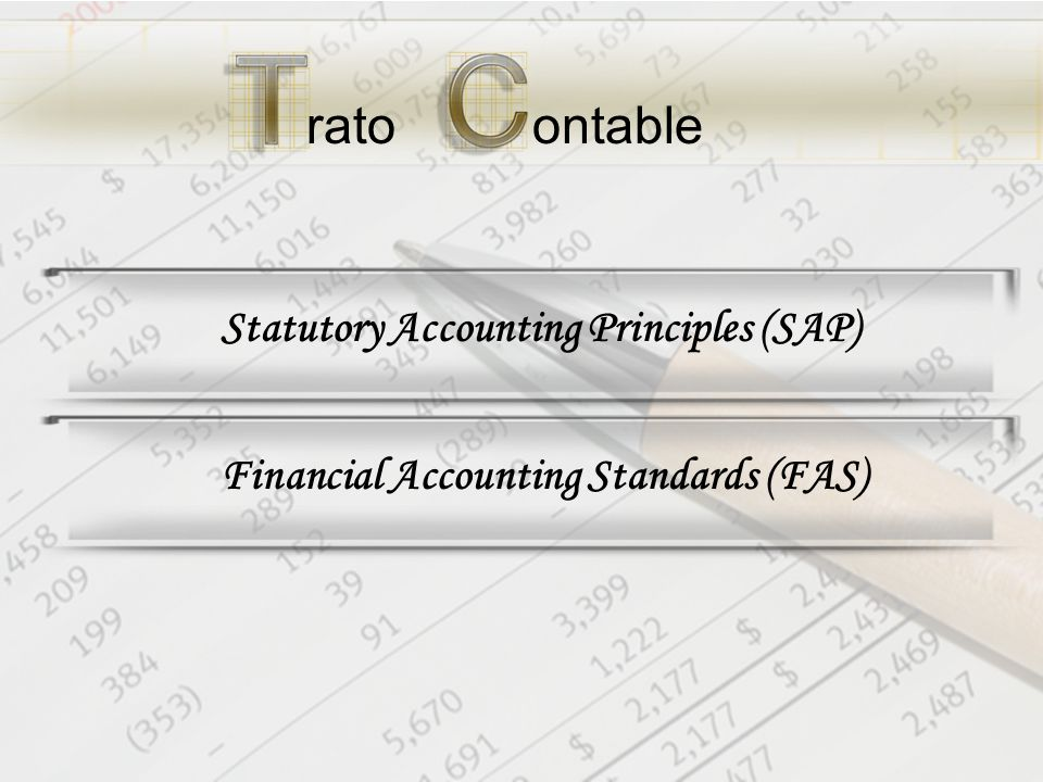 Financial Accounting Standards (FAS)