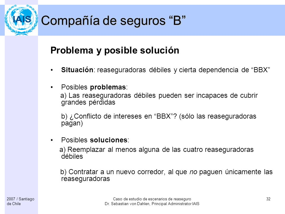 Compañía de seguros B