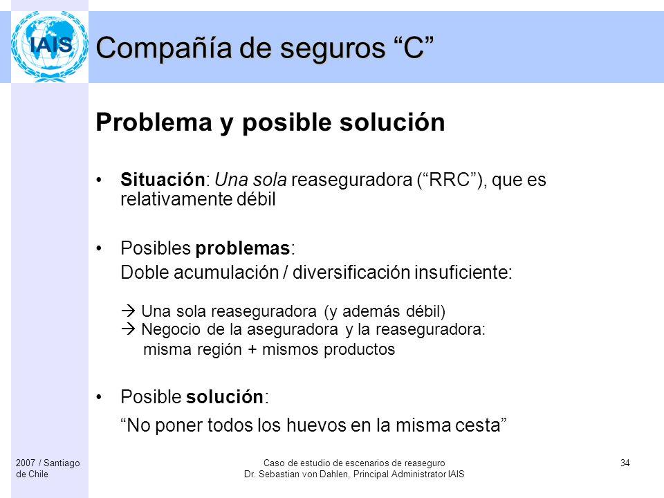 Compañía de seguros C