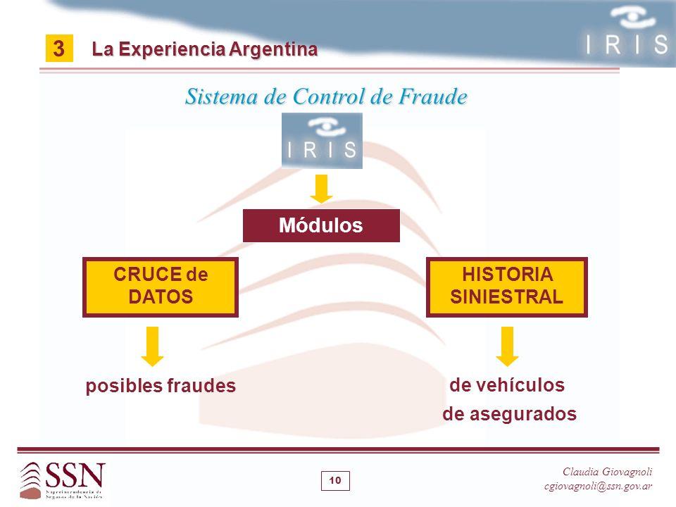 Sistema de Control de Fraude