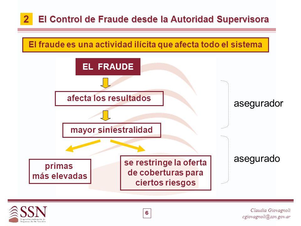 El fraude es una actividad ilícita que afecta todo el sistema
