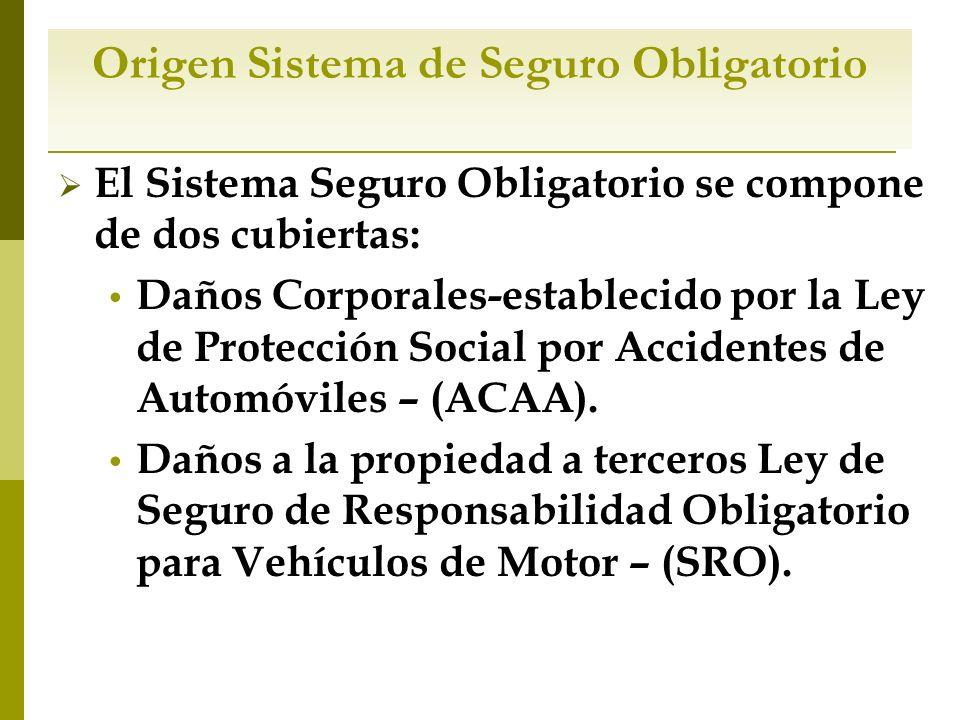 Sistema de seguro obligatorio en puerto rico ppt descargar for Seguro responsabilidad civil autonomos obligatorio