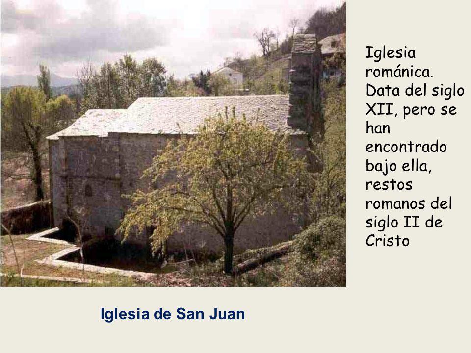 Iglesia románica. Data del siglo XII, pero se han encontrado bajo ella, restos romanos del siglo II de Cristo