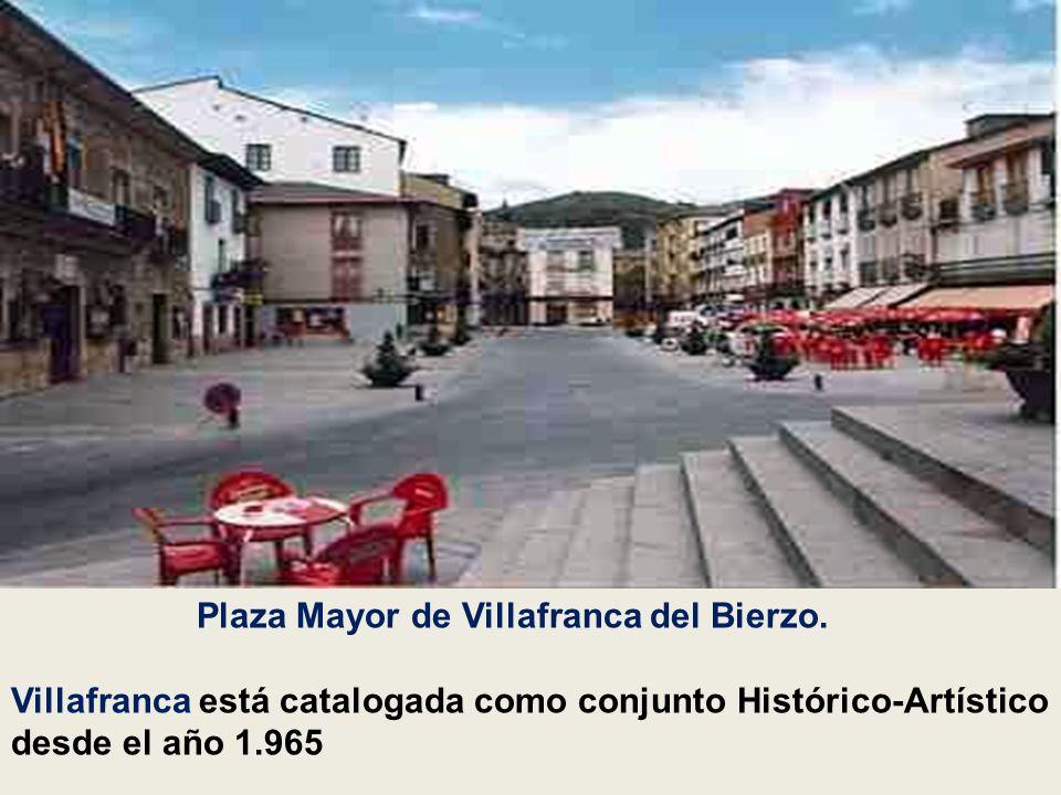 Plaza Mayor de Villafranca del Bierzo.