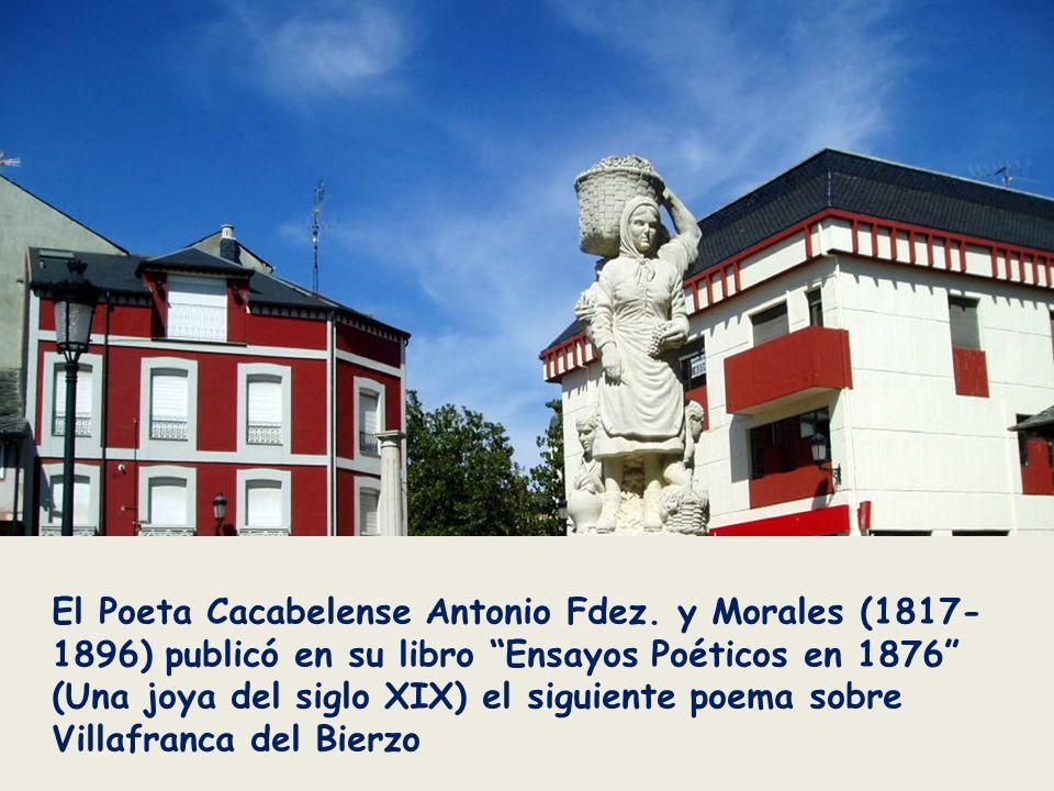 El Poeta Cacabelense Antonio Fdez